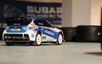 Subaru Impreza, model RC Tamiya